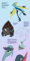 Some 8 gen realistic Pokemon