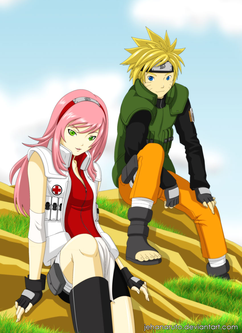 Naruto and Sakura 39;Future39; by jehanaruto on DeviantArt