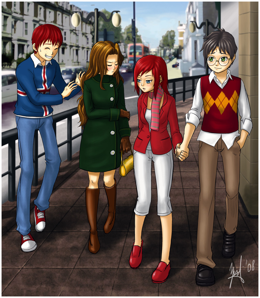 Harry potter fanfiction harry and hermione secretly dating