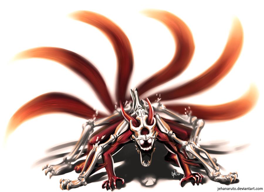 V1 -[RP Officiel-Quête des Deux Lunes] Un rubis sous les arbres Naruto_6_Tails_Kyuubi_by_jehanaruto