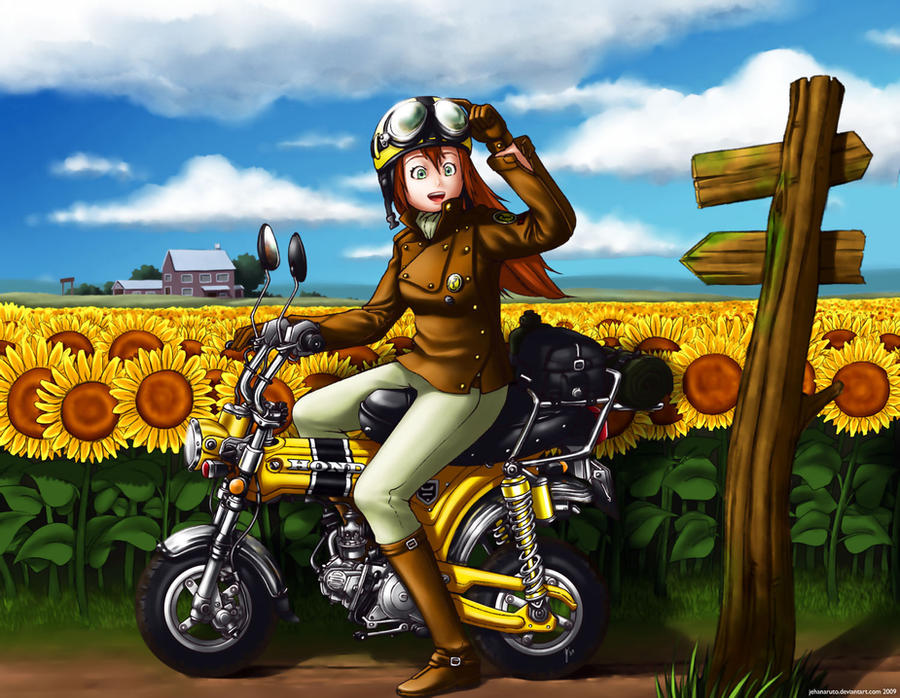The Yellow Field by jehanaruto