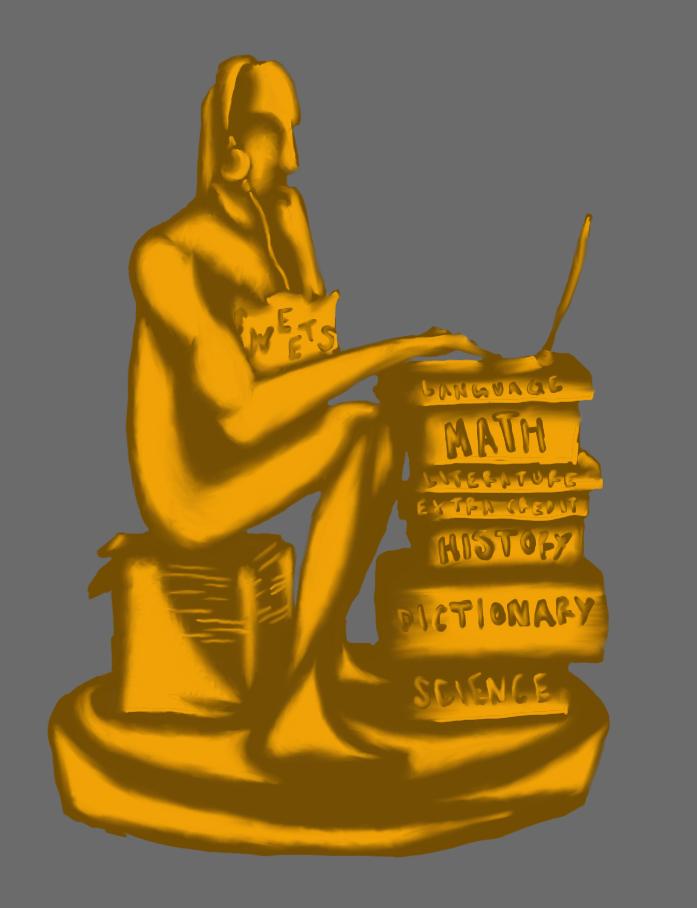 Procrastination Award by hayleykayarts
