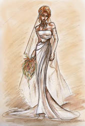 Star Wars: Mara Jade Wedding by GoblinQueeen