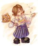 Bubble Summoner Yuna