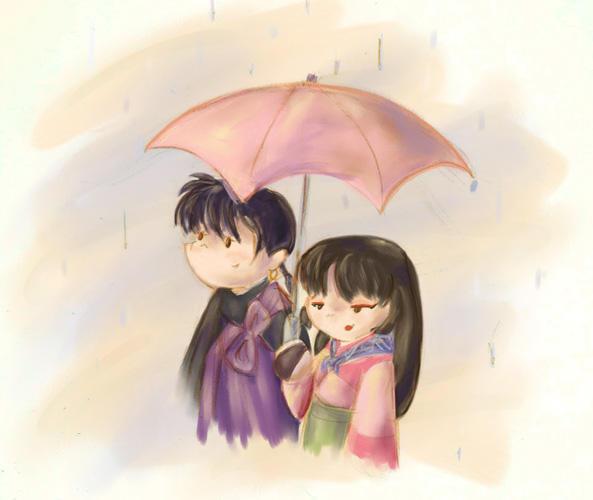 Happy When it Rains... by GoblinQueeen