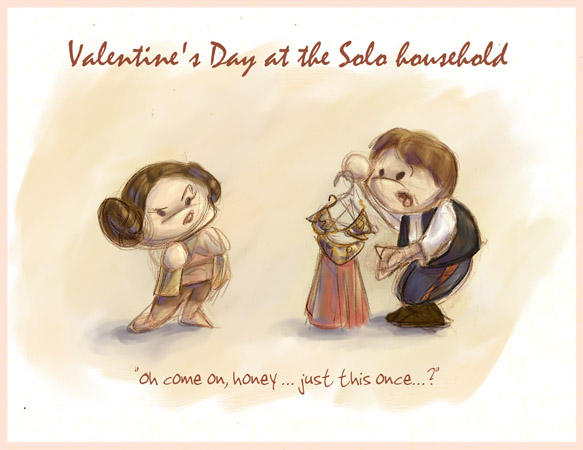 Valentine's at the Solo House by GoblinQueeen