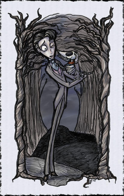 Companions  Corpse Bride 3of4 by GoblinQueeen - Tim Burton Ve Johnny Depp Filmleri Fan Clup