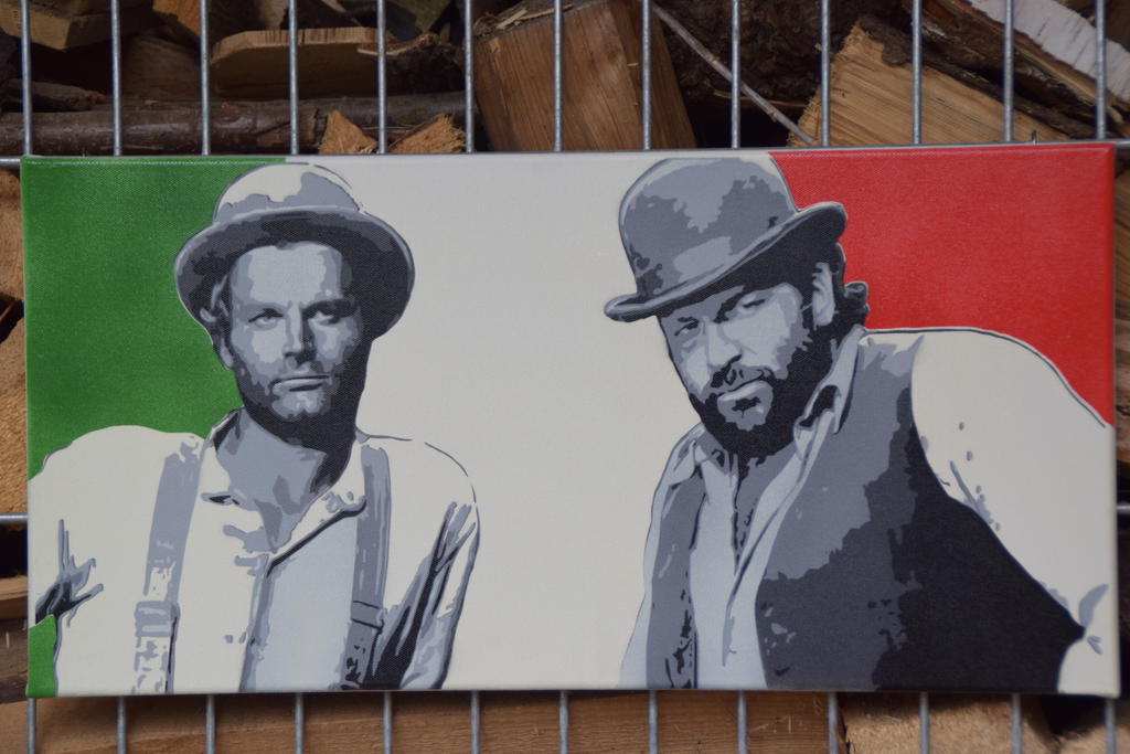 Bud Spencer and Terence Hill by Bolnasa