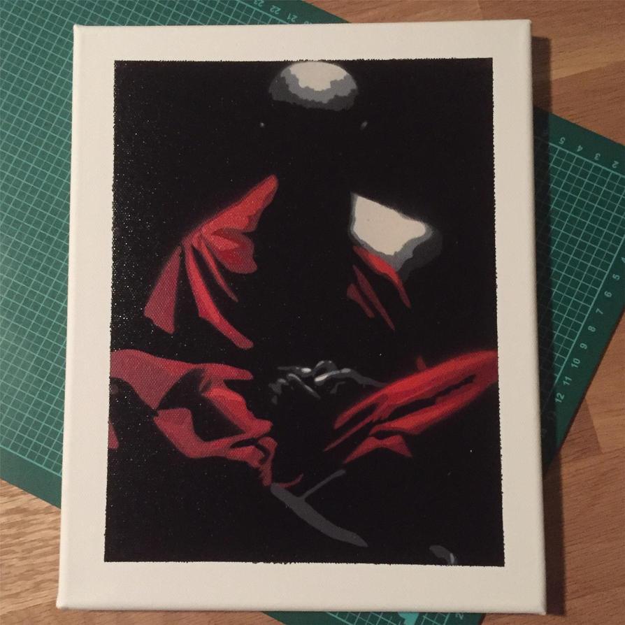 Praying monk by Bolnasa