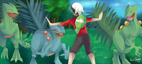 Jurassic Pokemon: Easy guys by MissStrangeress