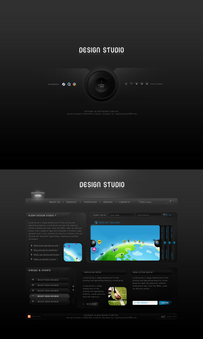 Design Studio V1 by riyaz7cp
