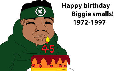 Happy birthday biggie smalls!
