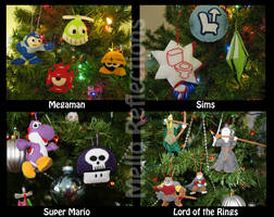 Geeky Ornaments