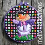 Twilight Sparkle Embroidery Hoop