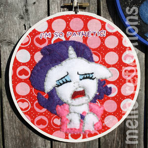 Rarity Embroidery Hoop