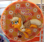 Applejack Embroidery Hoop