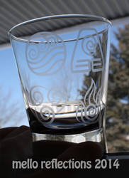 Avatar Etched Glass