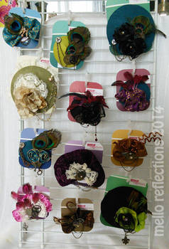 Steampunk Fascinators