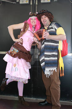 Steampunk Pinkie Pie and Cheese Sandwich