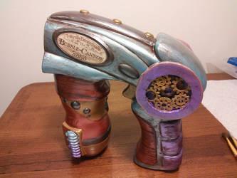 Steampunk Bubble Cannon