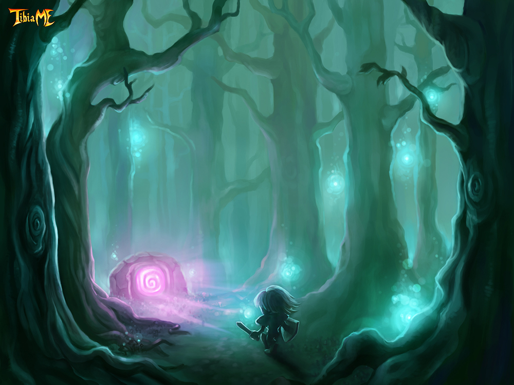 Magical Forest by Maripon