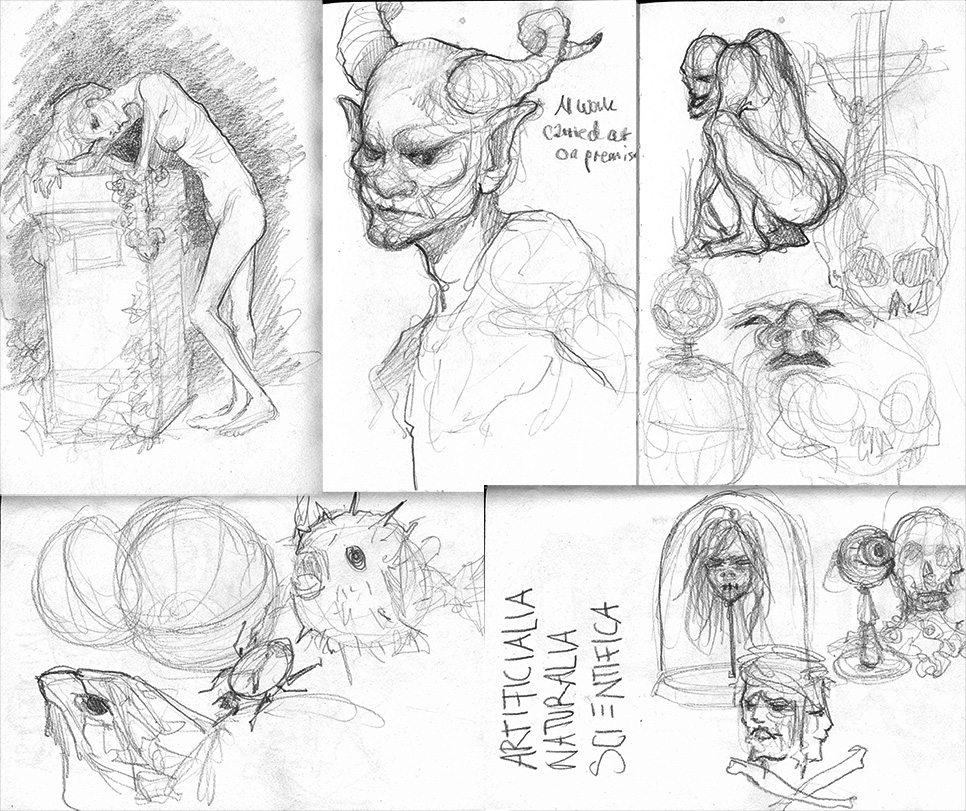Berlin Sketchdump by Maripon