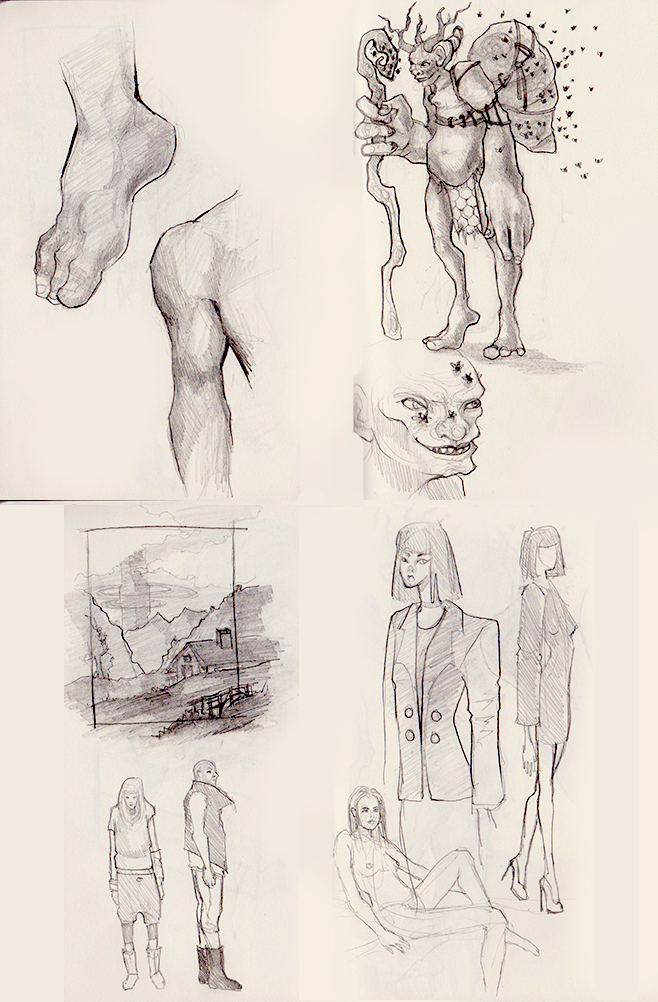 Sketches October by Maripon