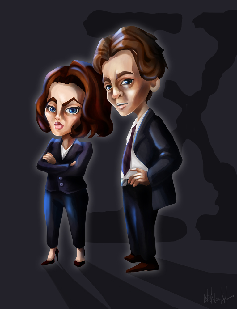 THE X FILES by Maripon