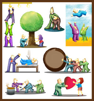 Illustration pack 1