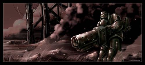 War Zone: Lonely trooper