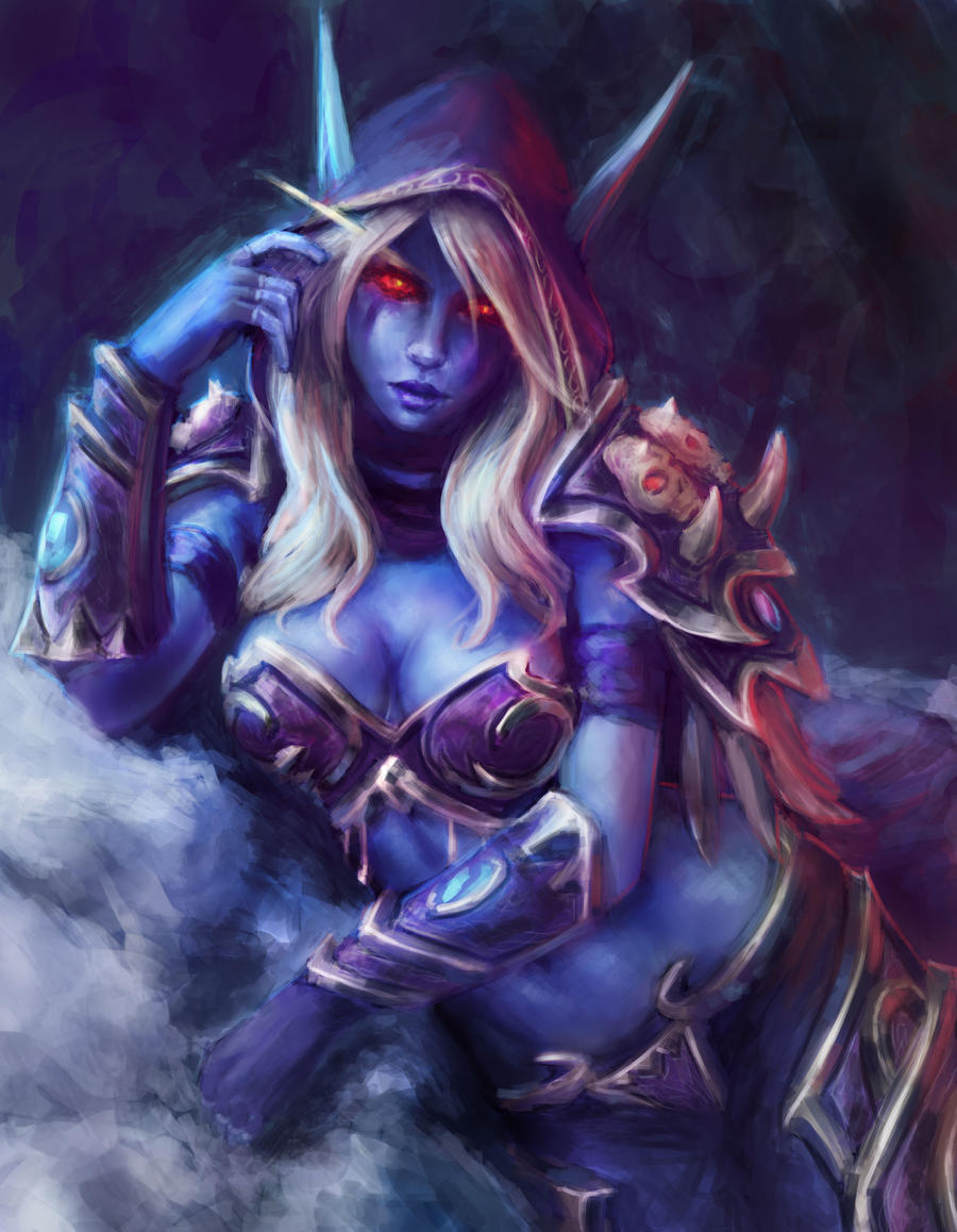 Sylvanas Windrunner by hellishburn on DeviantArt