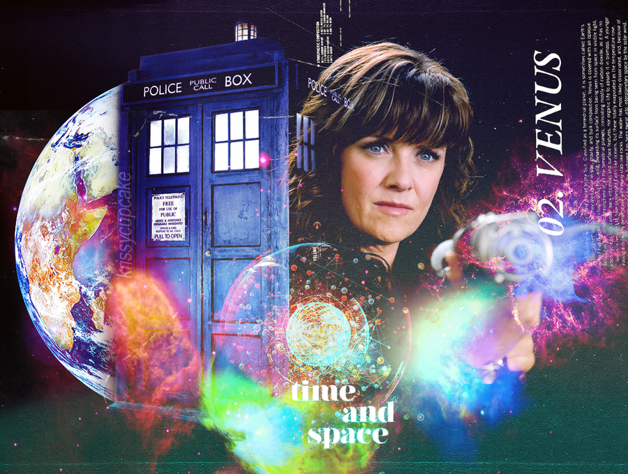 Amanda Tapping as The Doctor (Wallpaper) by krissycupcake