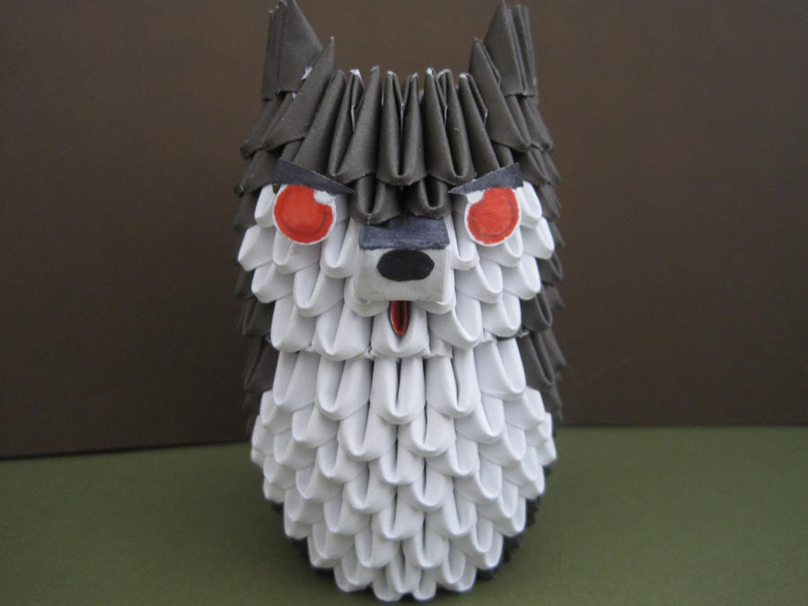 3d Origami Wolf By Silentwolfcreations On Deviantart