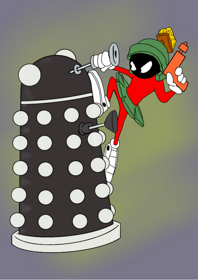 Marvin Dalek by JoffOliver