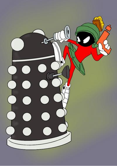 Marvin Dalek by JoffOliver