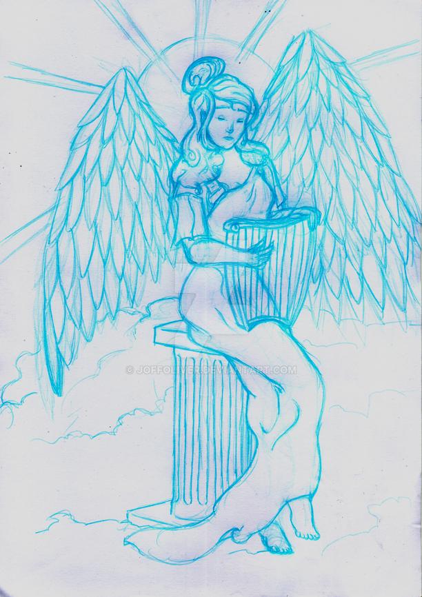 Angel Harp by JoffOliver