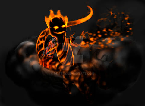 Efreet or fire imp