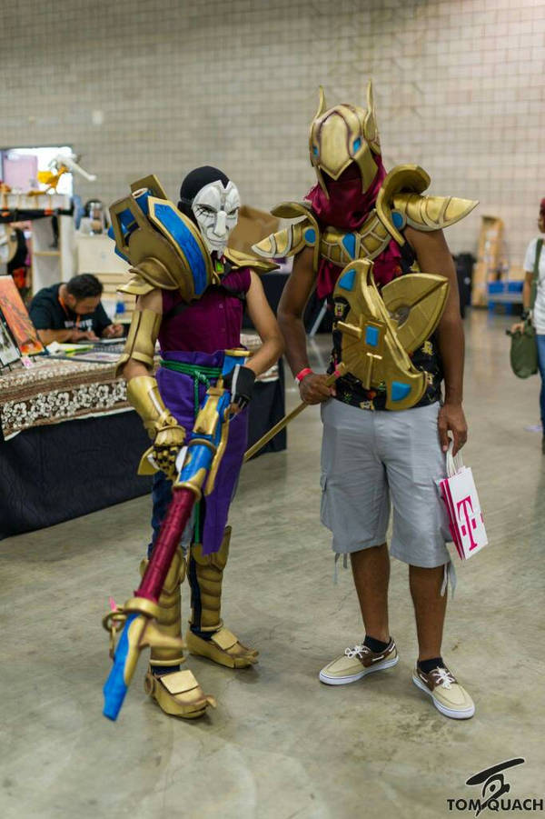 Jhin Cosplay Azir Cosplay From League Of Legends By Treycarter On