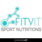 FitVit Sport Nutritions logo concept