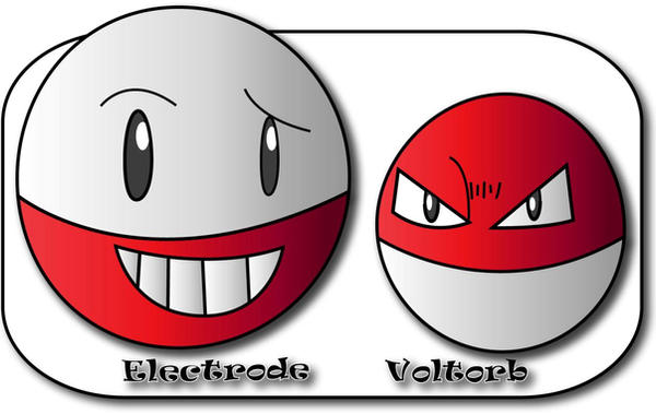 electrode and voltorb - photo #1