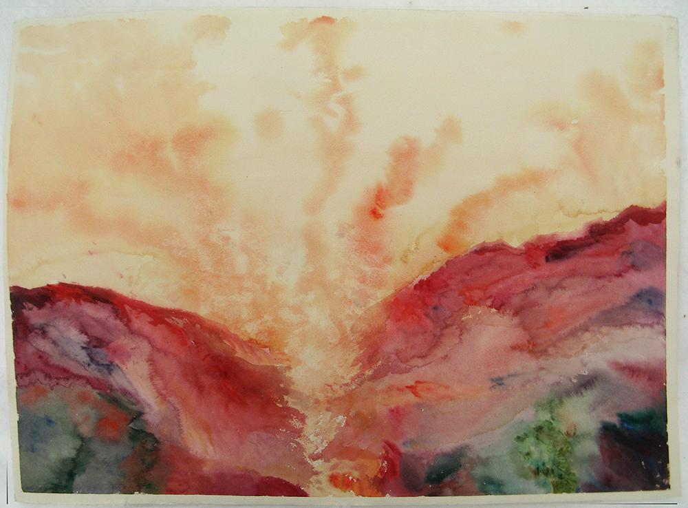 Desert landscape by taika-kim