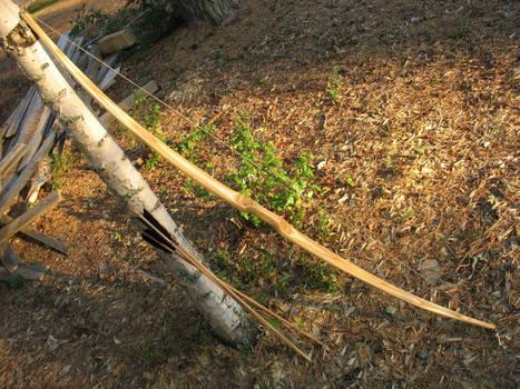 Birch flatbow