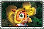 Coco Bandicoot Stamp by DaBair