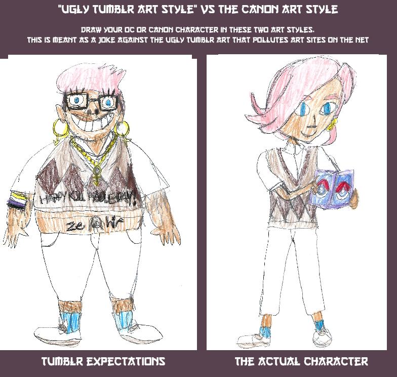 Ugly Tumblr Meme Ilima By Dabair On Deviantart
