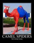 Camel Spiders Demotivational Poster