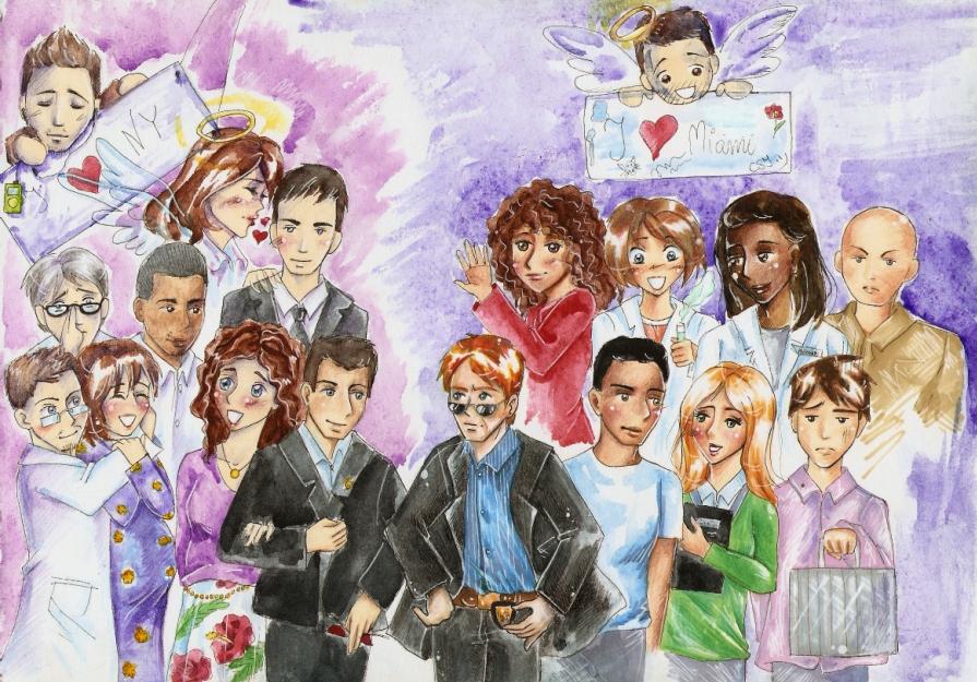 CSI Miami and CSI NY by SirSubaru