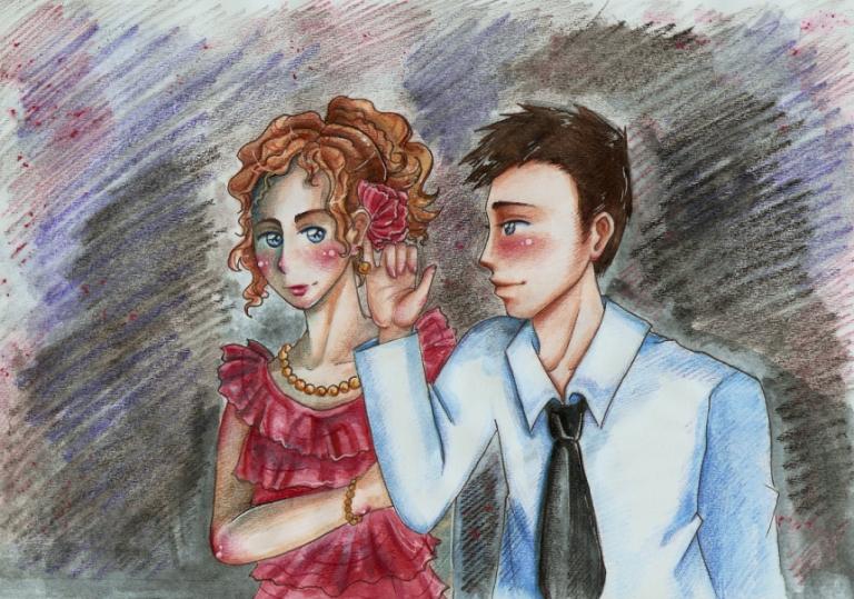 Stella Bonasera and Mac Taylor by SirSubaru