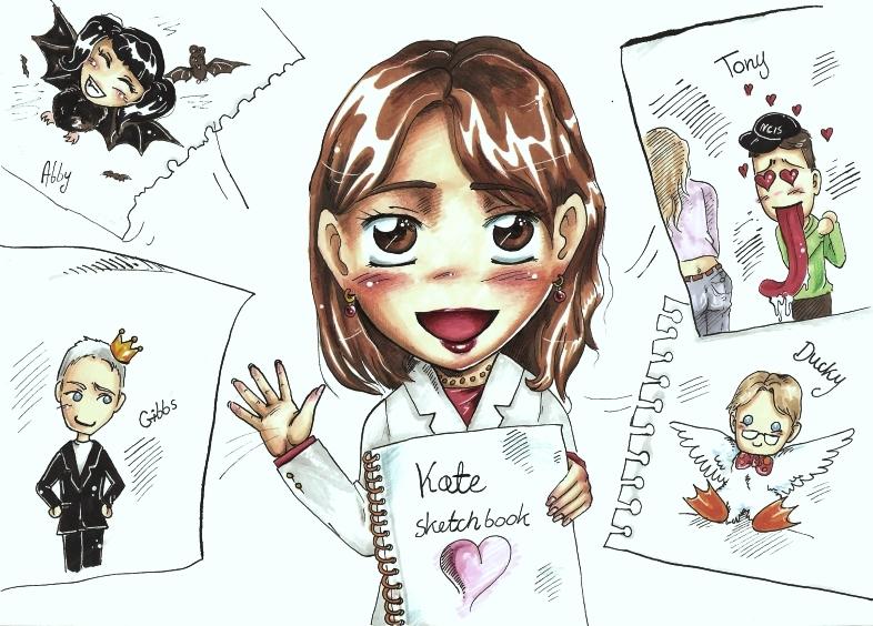 NCIS Kate sketch by SirSubaru