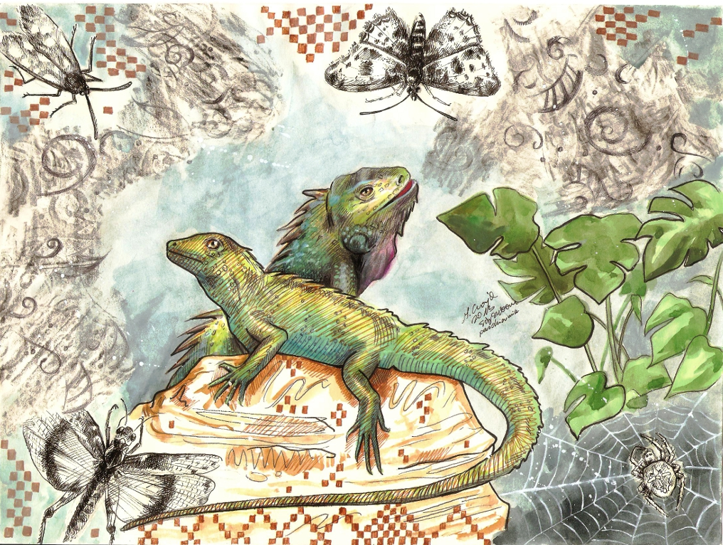 lizard king by SirSubaru