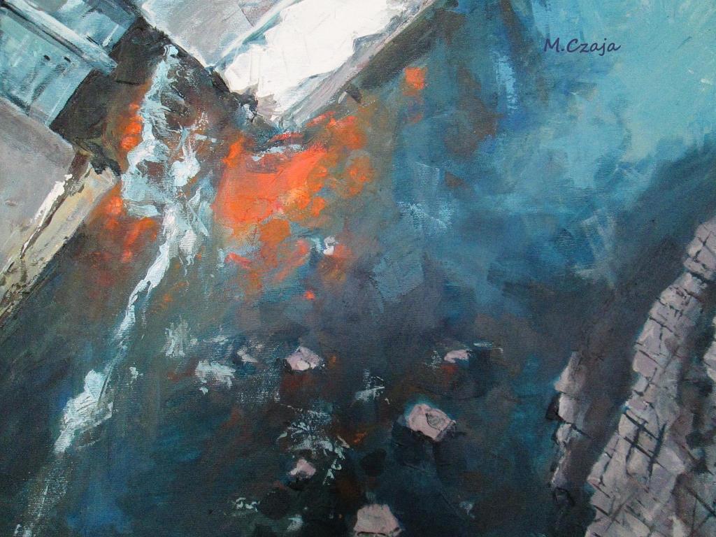 rzeka abstrakcyjnie by SirSubaru
